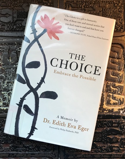 "Photo of the book ""The Choice"" by Dr. Edith Eva Ever"