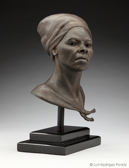 "Fierce"" Triumph of Harriet Tubman bronze bust ©Lori Kiplinger ..."